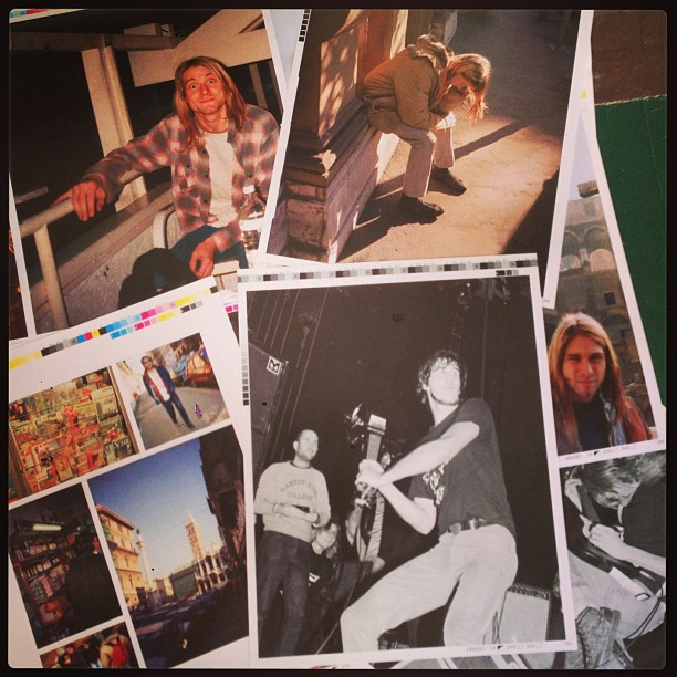 Experiencing Nirvana proof pages. 1989 pics by Bruce Pavitt and Steve Double http://www.bazillionpoints.com/nirvana