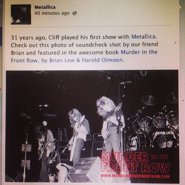 Luckily @umlaut could afford a roll of 35mm film on 3/5/83 for Cliff Burton's 1st Metallica gig.
